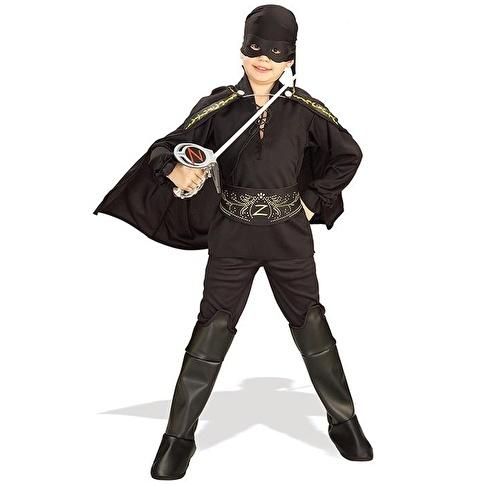 Rubies Zorro Çocuk Kostüm 12-14 Yaş Renkli
